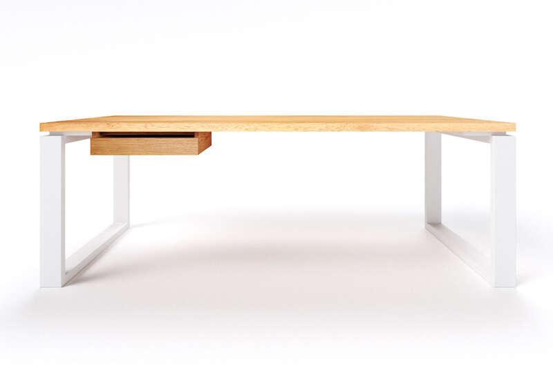 Schreibtisch Eiche modern Vardo astfrei