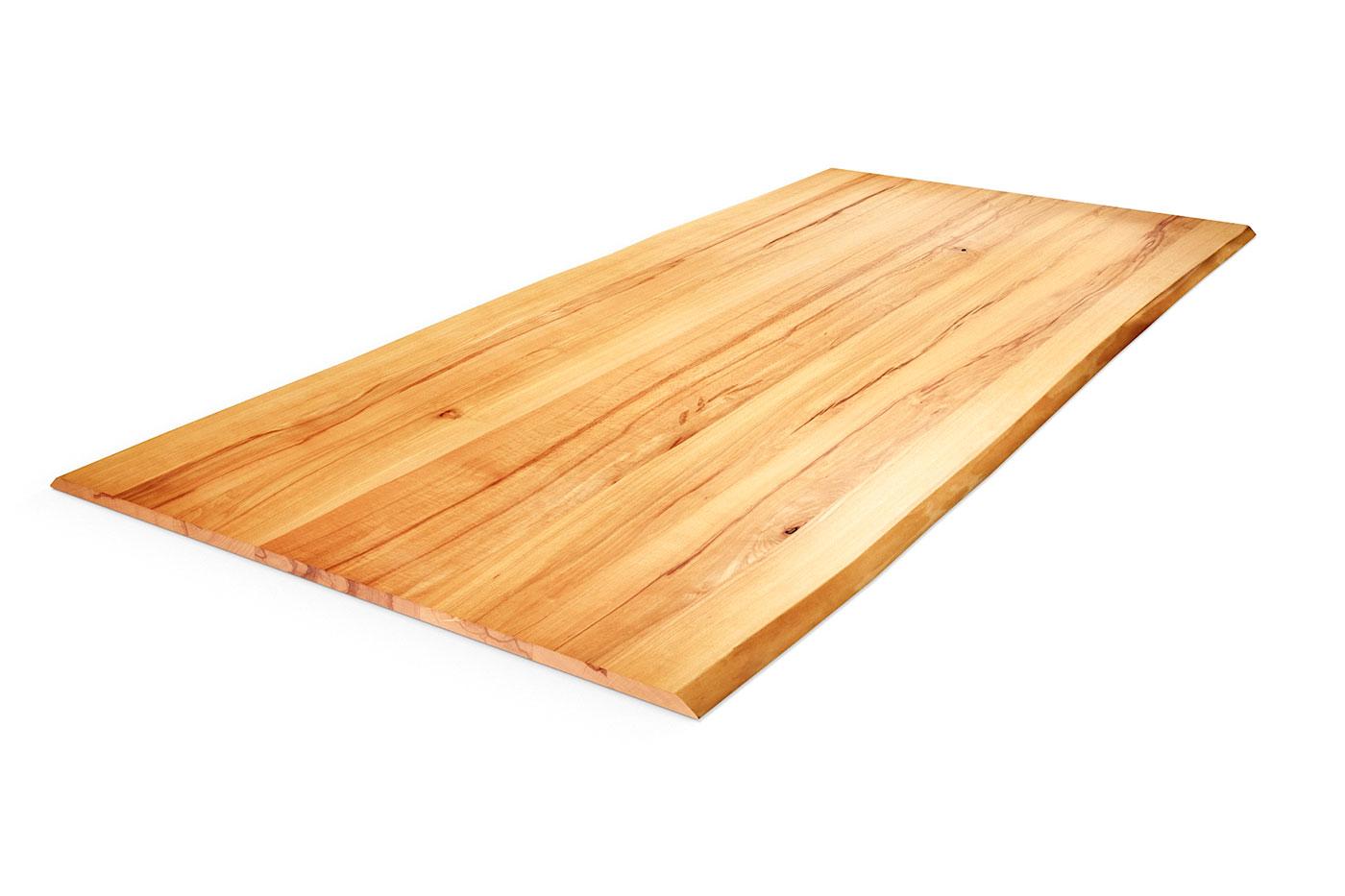 Tischplatte Baumkante Wildbuche nach Maß