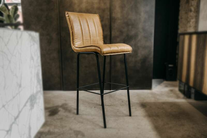 Tresenstuhl Retro Industriedesign Spencer