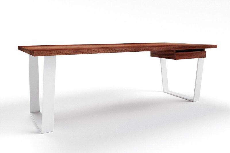 Design Schreibtisch Nussbaum Anan