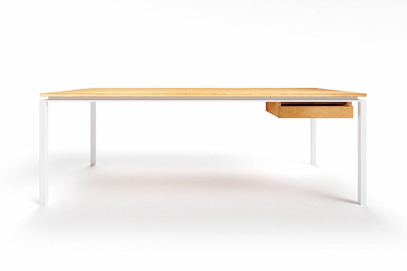 Schreibtisch Design Eiche astfrei Filigrando