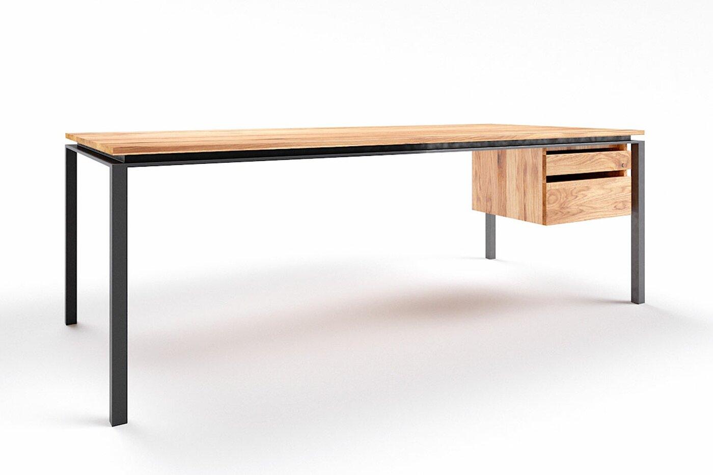 Eiche Schreibtisch modern Filigrando