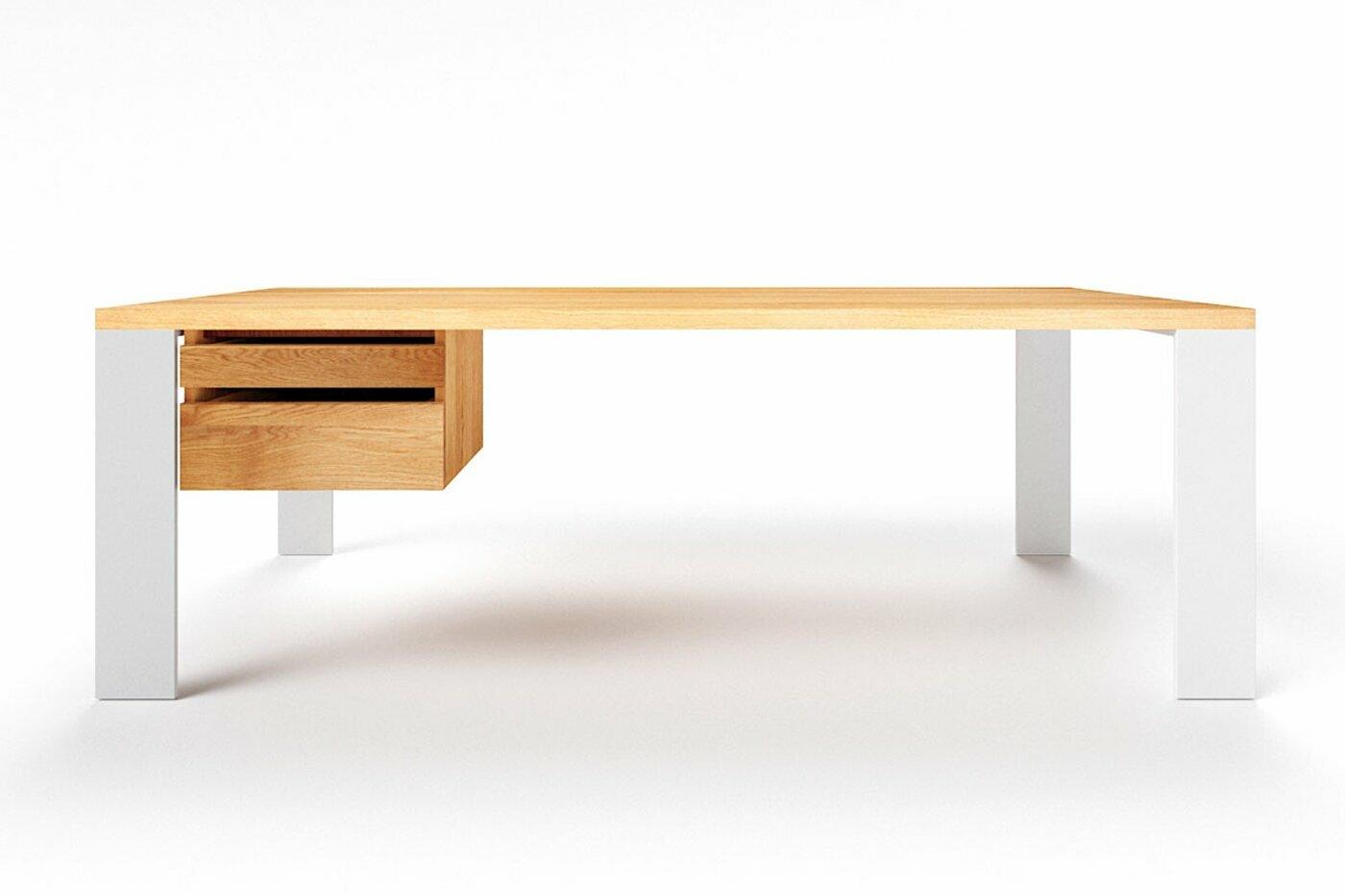 Eichen Schreibtisch modern Hartok