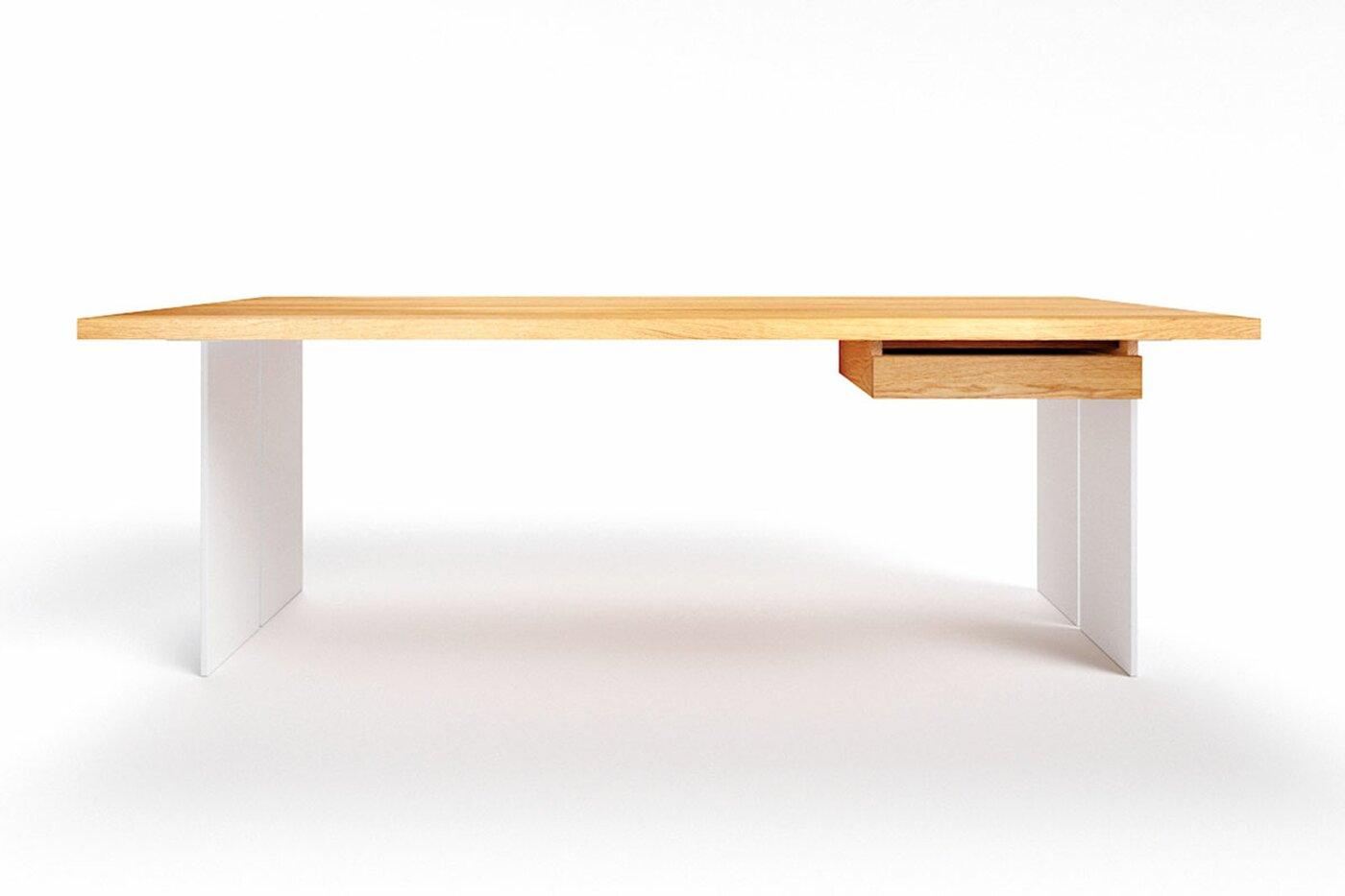Eiche Schreibtisch nach Maß Raik astfrei