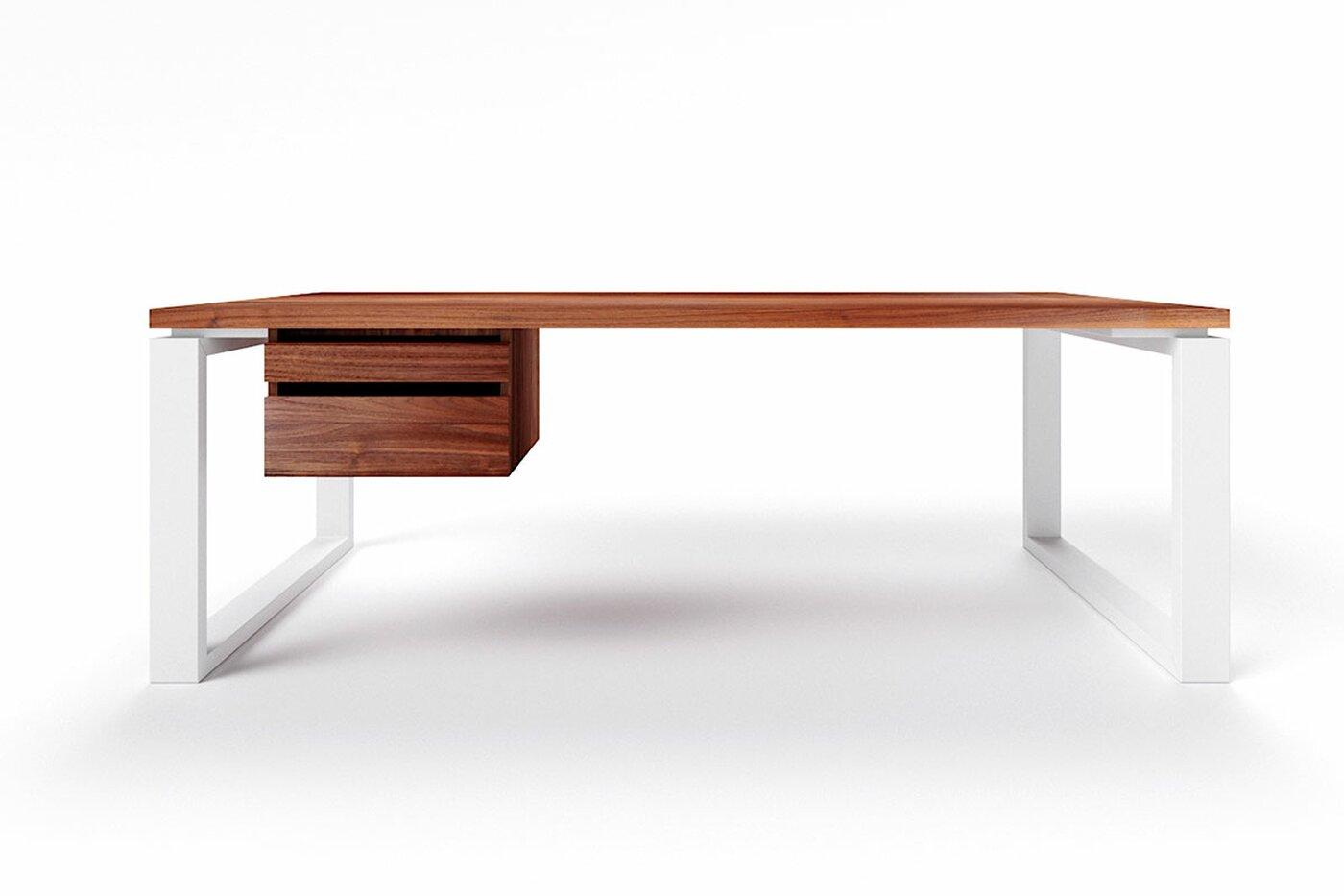 Nussbaum Schreibtisch nach Maß Vardo