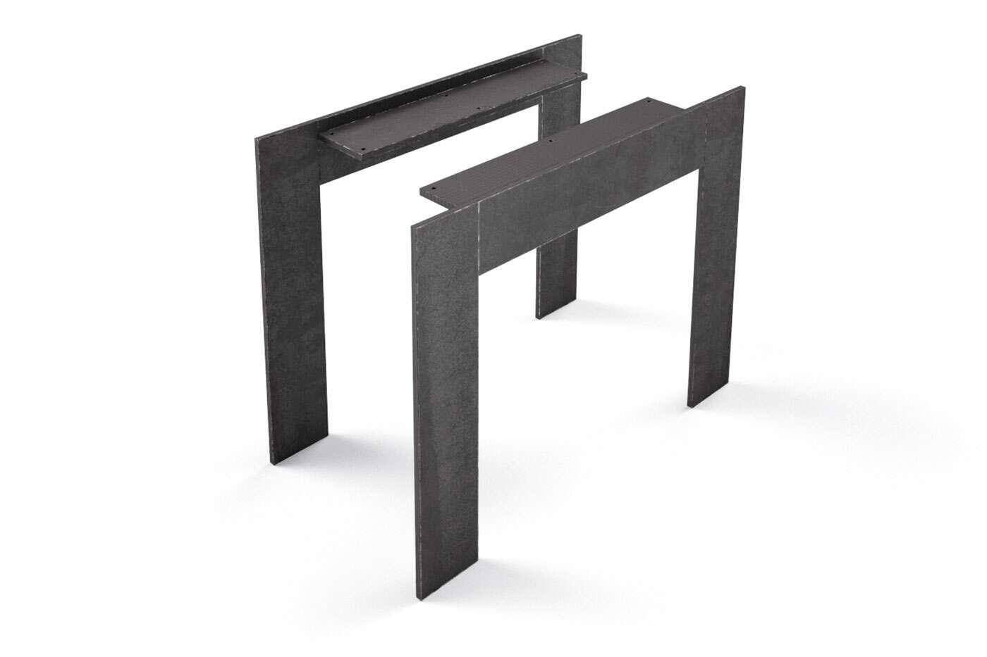 Stahl Tischfüße Trenton nach Maß