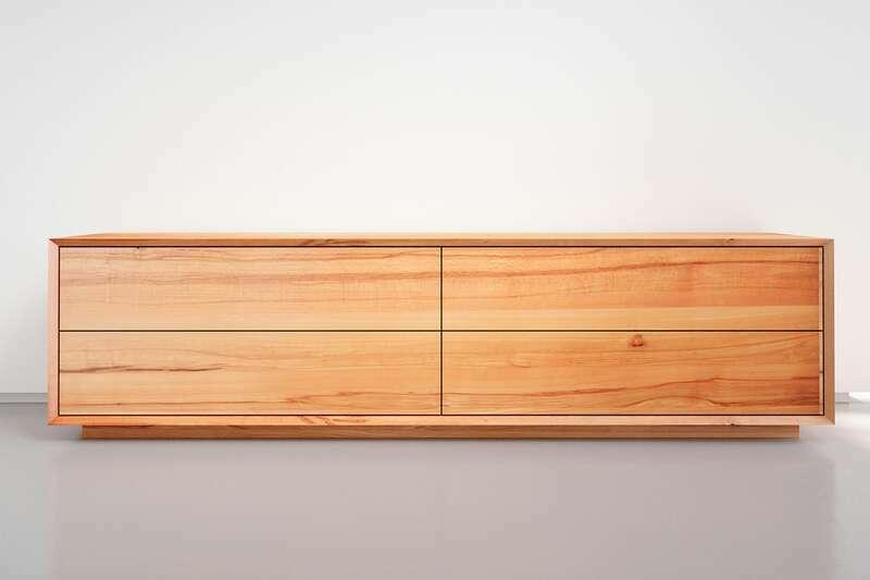 Massivholz Lowboard modern nach Maß