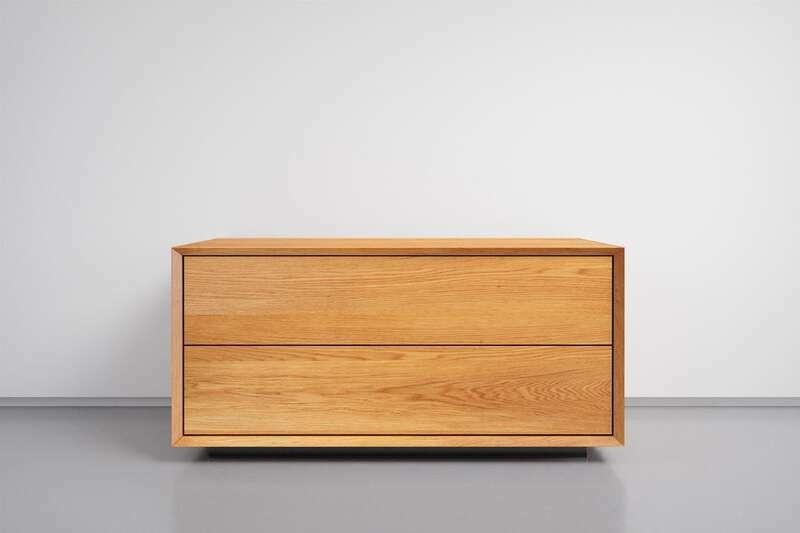 Nachttisch mit Schublade Eiche nach Maß
