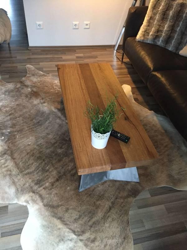 Kundenbild 1 Tischplatte Eiche Altholz vollmassiv auf Maß