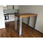 Kundenbild 4 Alte Eiche Tischplatte aufgedoppelt auf Maß