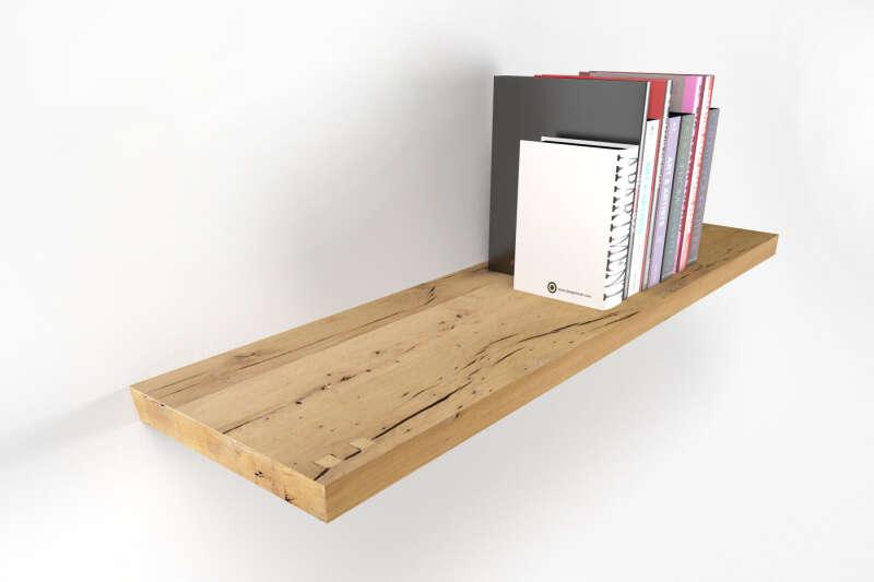 regalbrett nach ma aus massivholz wohnsektion. Black Bedroom Furniture Sets. Home Design Ideas