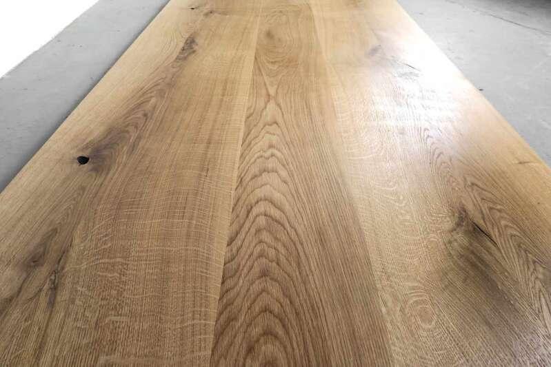 Tischplatte Massivholz Eiche Nach Mass Ansehen