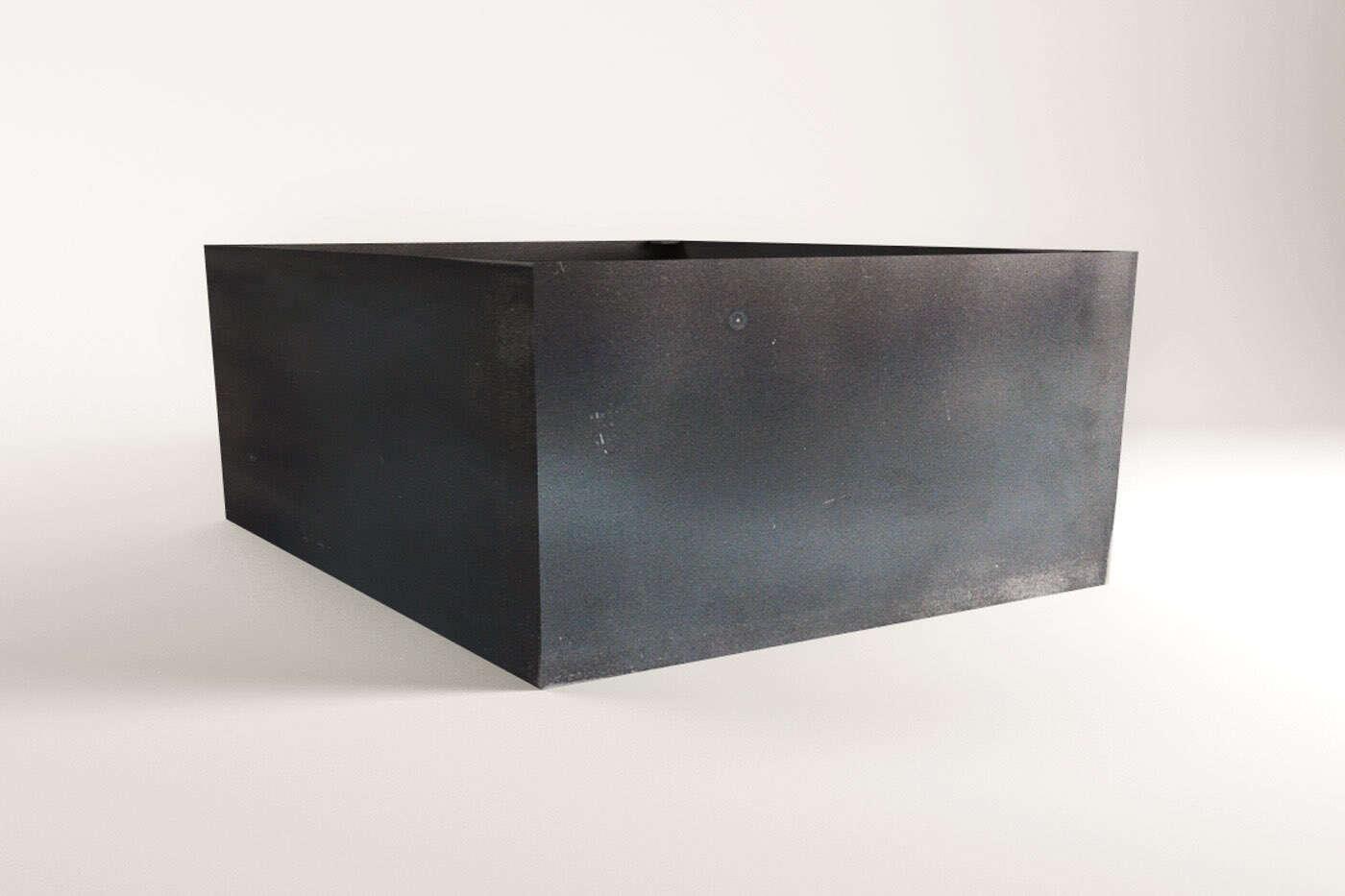 couchtisch mittelfu gestell kubic. Black Bedroom Furniture Sets. Home Design Ideas