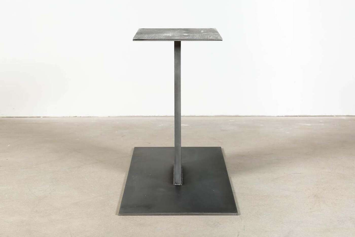 mittelfu tischgestell alva industriedesign wohnsektion. Black Bedroom Furniture Sets. Home Design Ideas