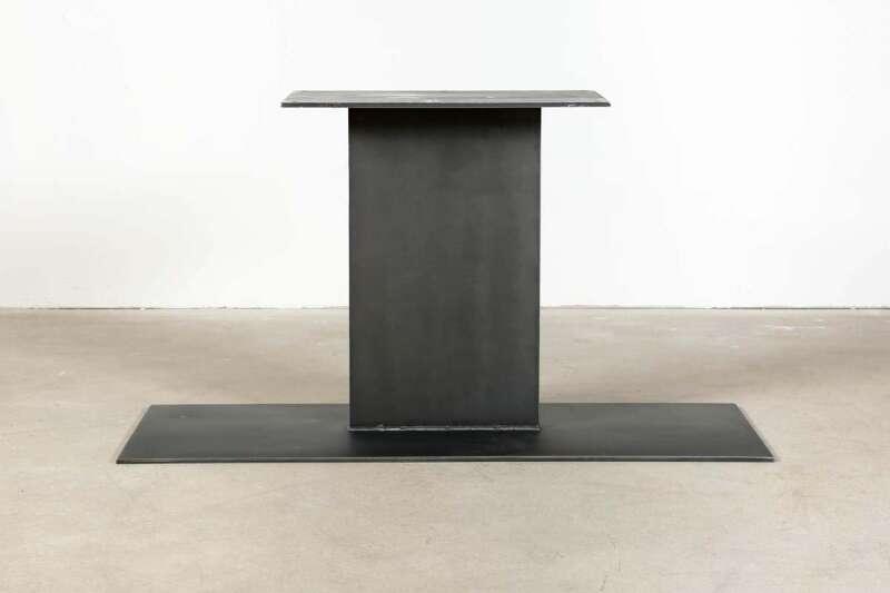 Mittelfuß Tischgestell Alva Industriedesign