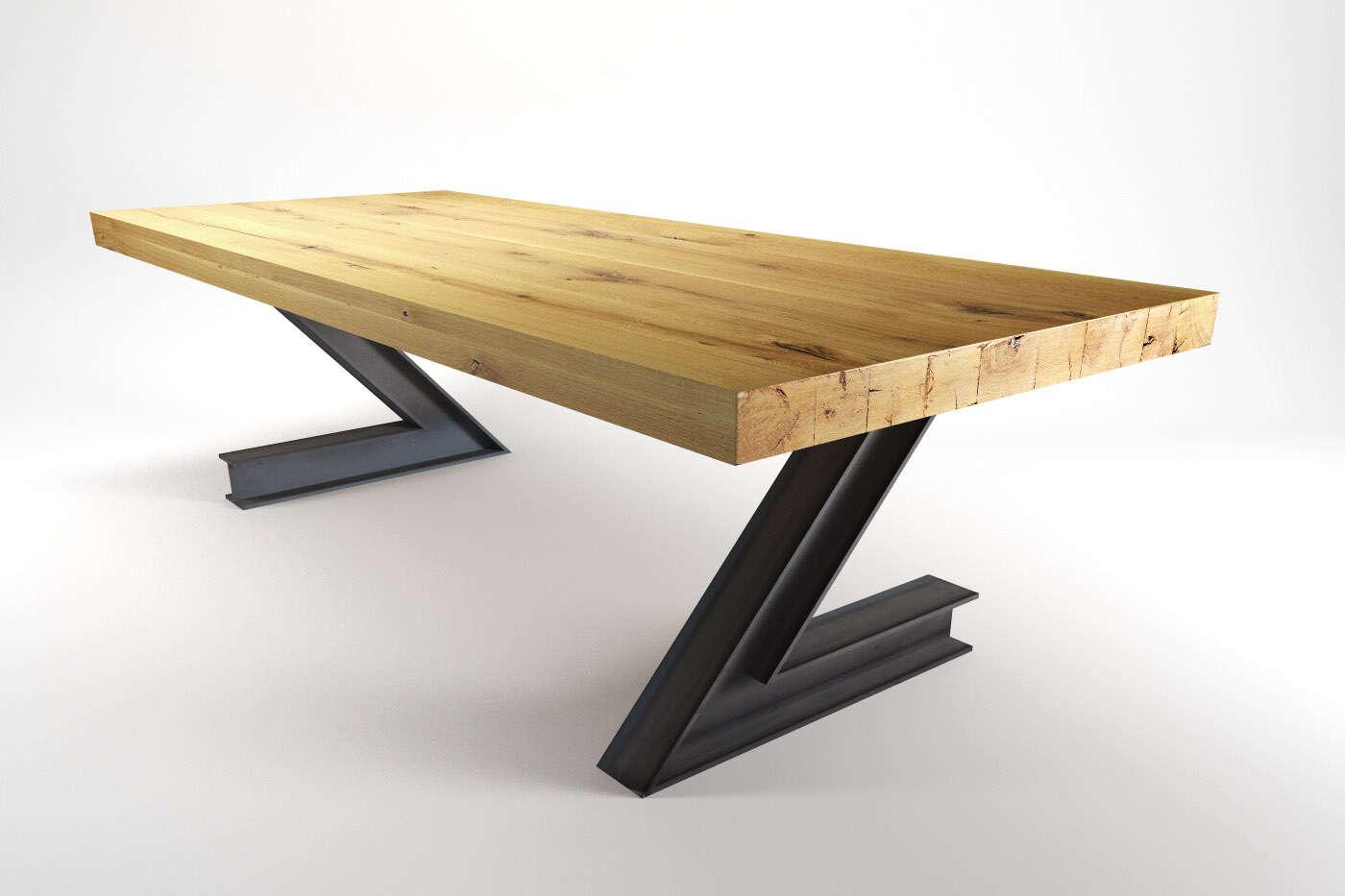 industrial tischgestell z bestellbar auf ma wohnsektion. Black Bedroom Furniture Sets. Home Design Ideas