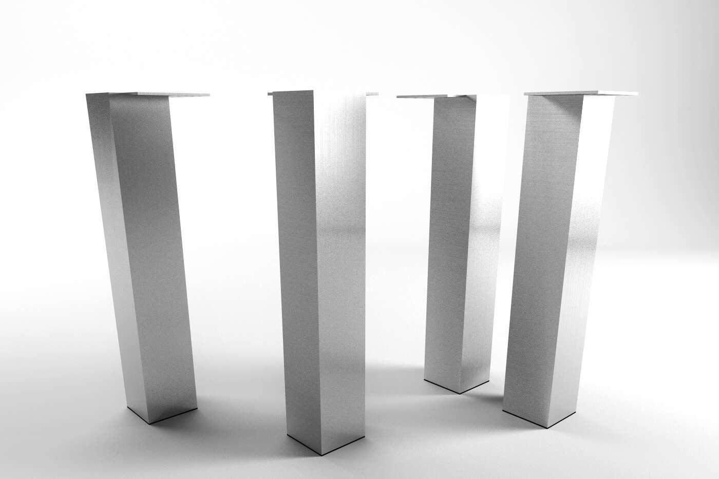 tischbein metall nach ma ansehen. Black Bedroom Furniture Sets. Home Design Ideas