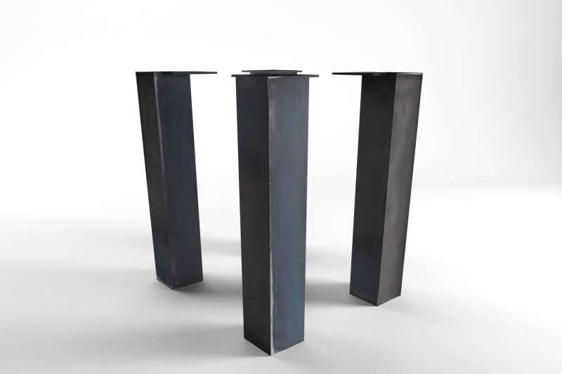 tischgestell nach ma in holz und stahl wohnsektion. Black Bedroom Furniture Sets. Home Design Ideas