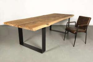 Holztisch altes Holz Eiche | Wohnsektion