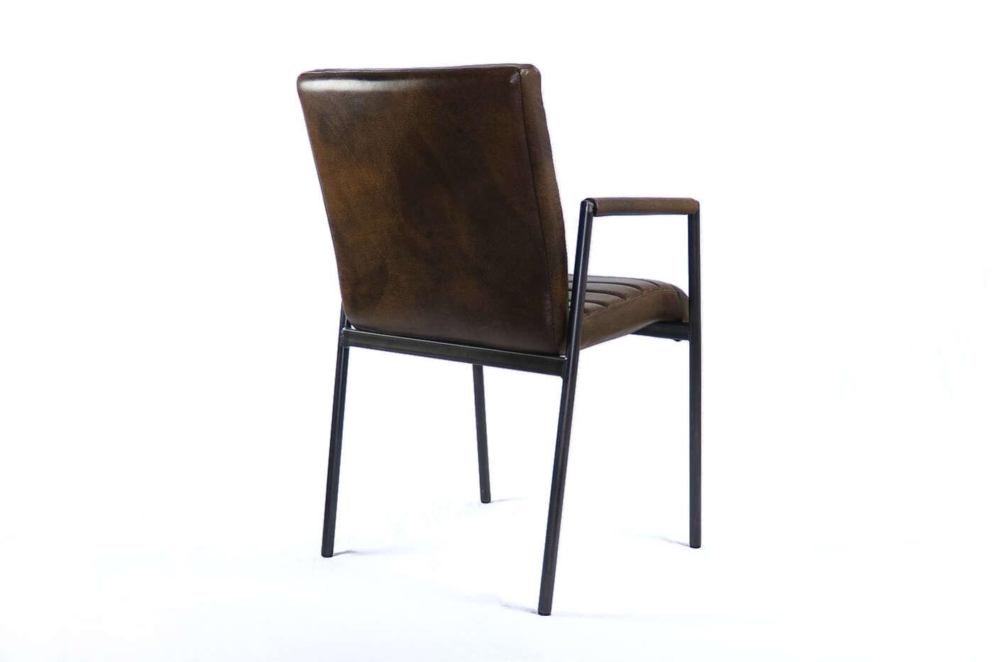 Sympathisch Esstisch Stühle Mit Armlehne Dekoration Von Rücken - Ansicht Von Hinten Esko Echtleder