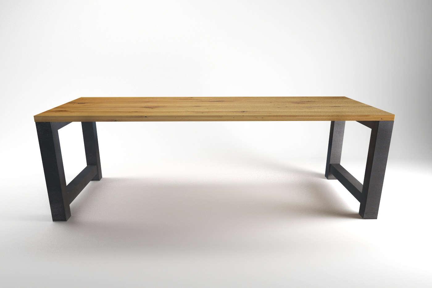 Werkbank Esstische Melean Eiche | Tisch nach Maß