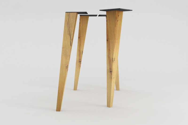 tischbeine holz konisch rana eiche wohnsektion. Black Bedroom Furniture Sets. Home Design Ideas