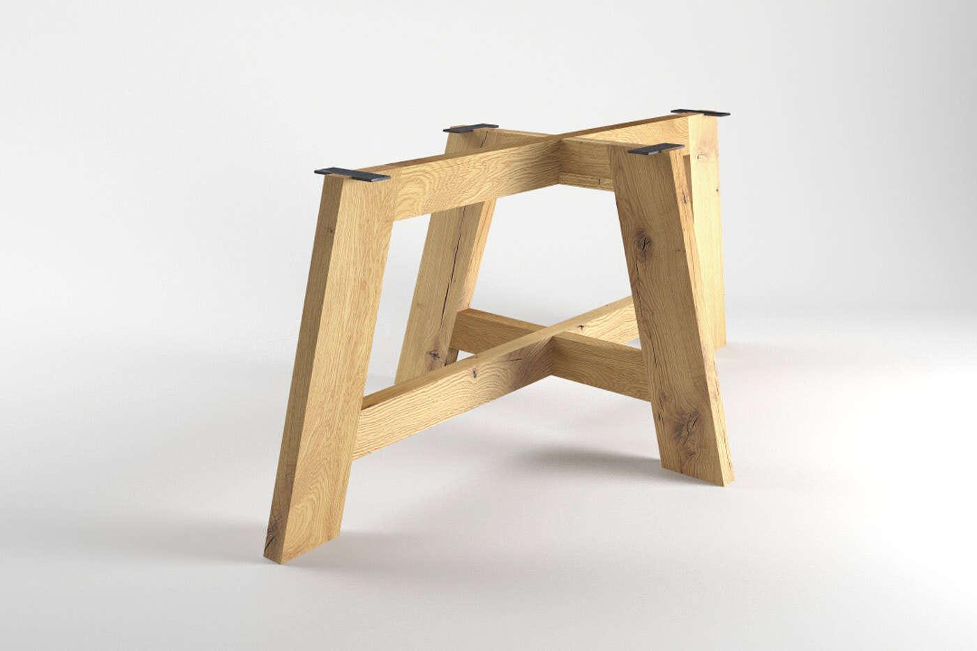Tischuntergestell Trondheim Eiche