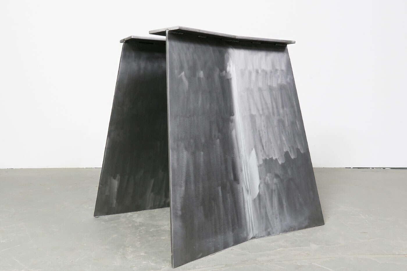 Tischgestell Borg Stahlwangen