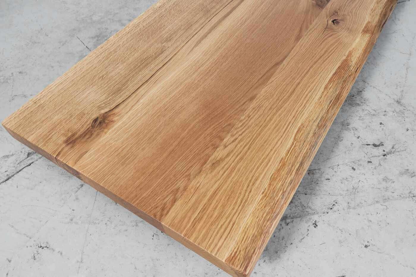 massivholz waschtischplatte eiche 140x50cm. Black Bedroom Furniture Sets. Home Design Ideas