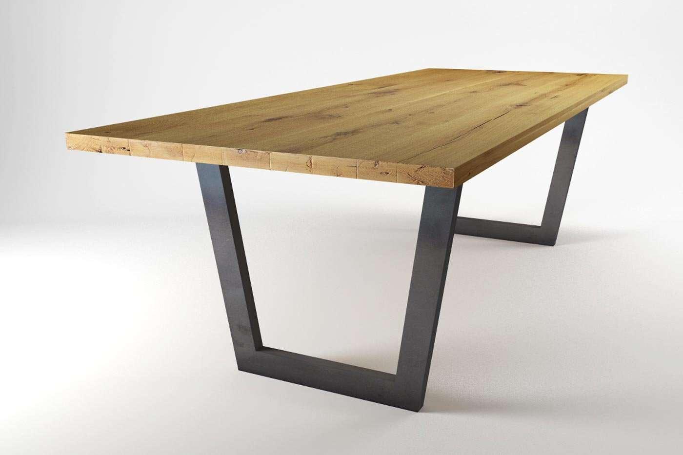 esstisch auf ma ulesta eiche wohnsektion. Black Bedroom Furniture Sets. Home Design Ideas