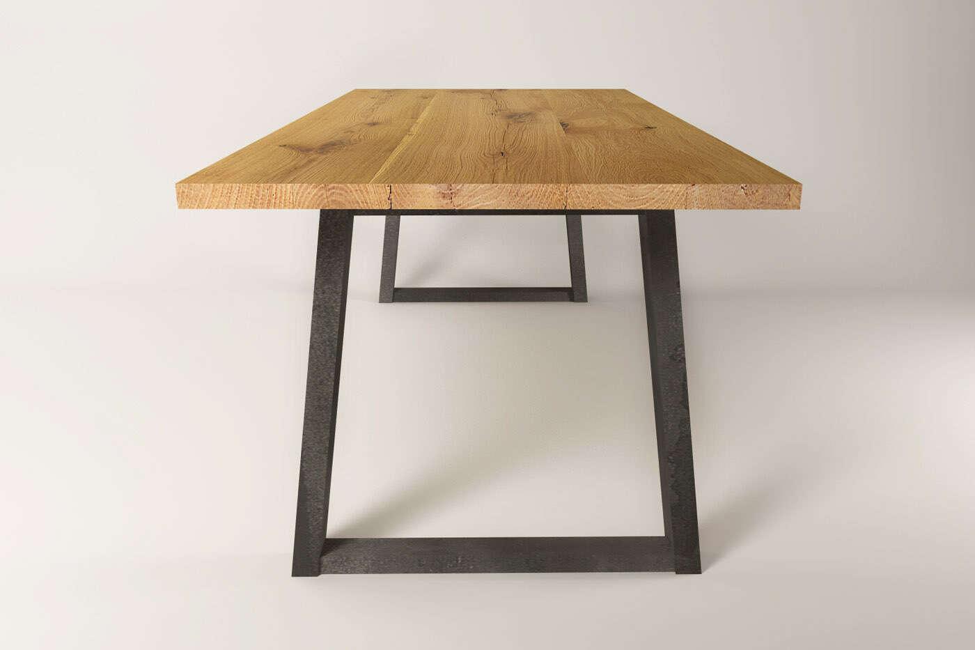 Moderner schreibtisch massivholz eiche larvik for Schreibtisch in eiche