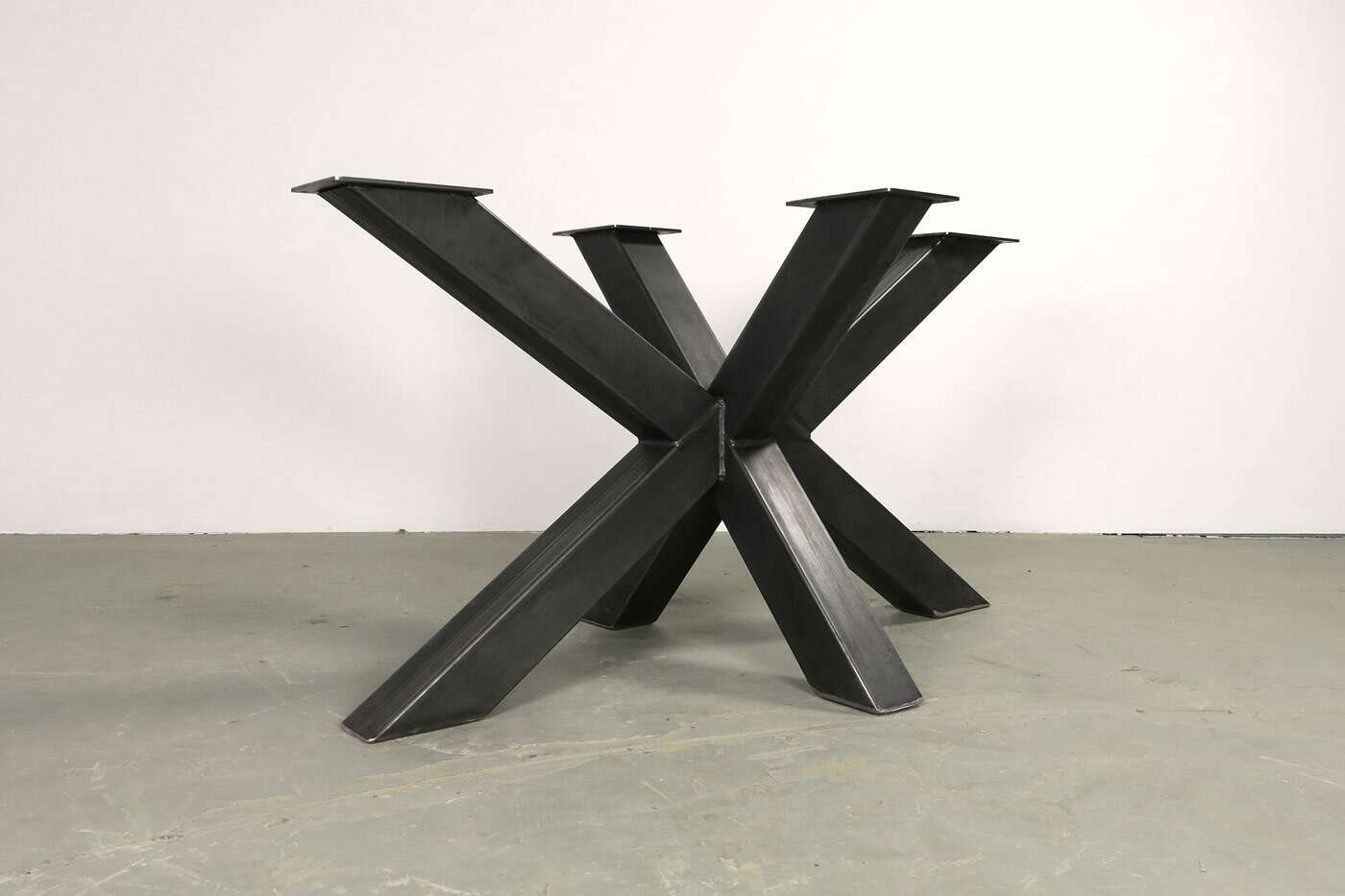 Tischuntergestell Bolk aus Rohstahl