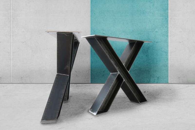 Stahlkreuz Tischgestell Paron