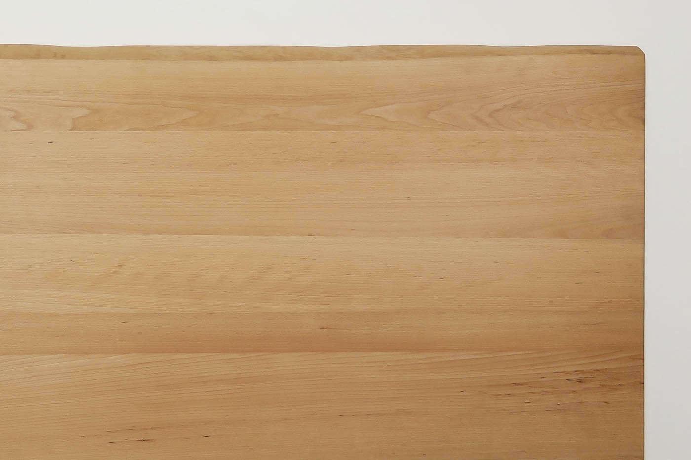 Tischplatte Massivholz Baumkante Buche Astfrei