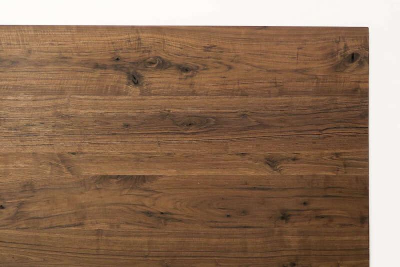 tischplatte nach ma amerikanischer nussbaum. Black Bedroom Furniture Sets. Home Design Ideas