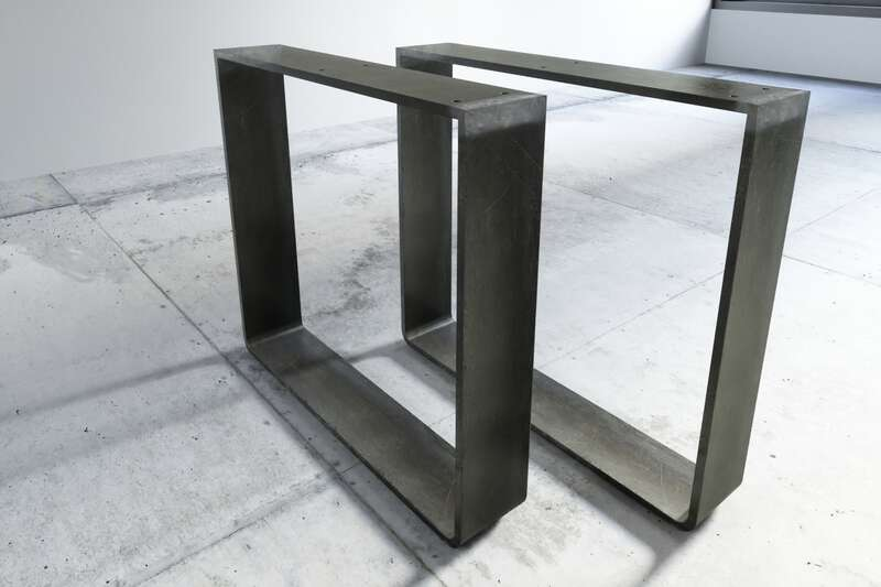 Kufengestell Eisen Modell Arlon mit 10cm Rundung