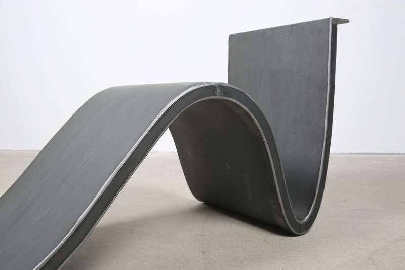 stahl tischgestell brandung wohnsektion. Black Bedroom Furniture Sets. Home Design Ideas
