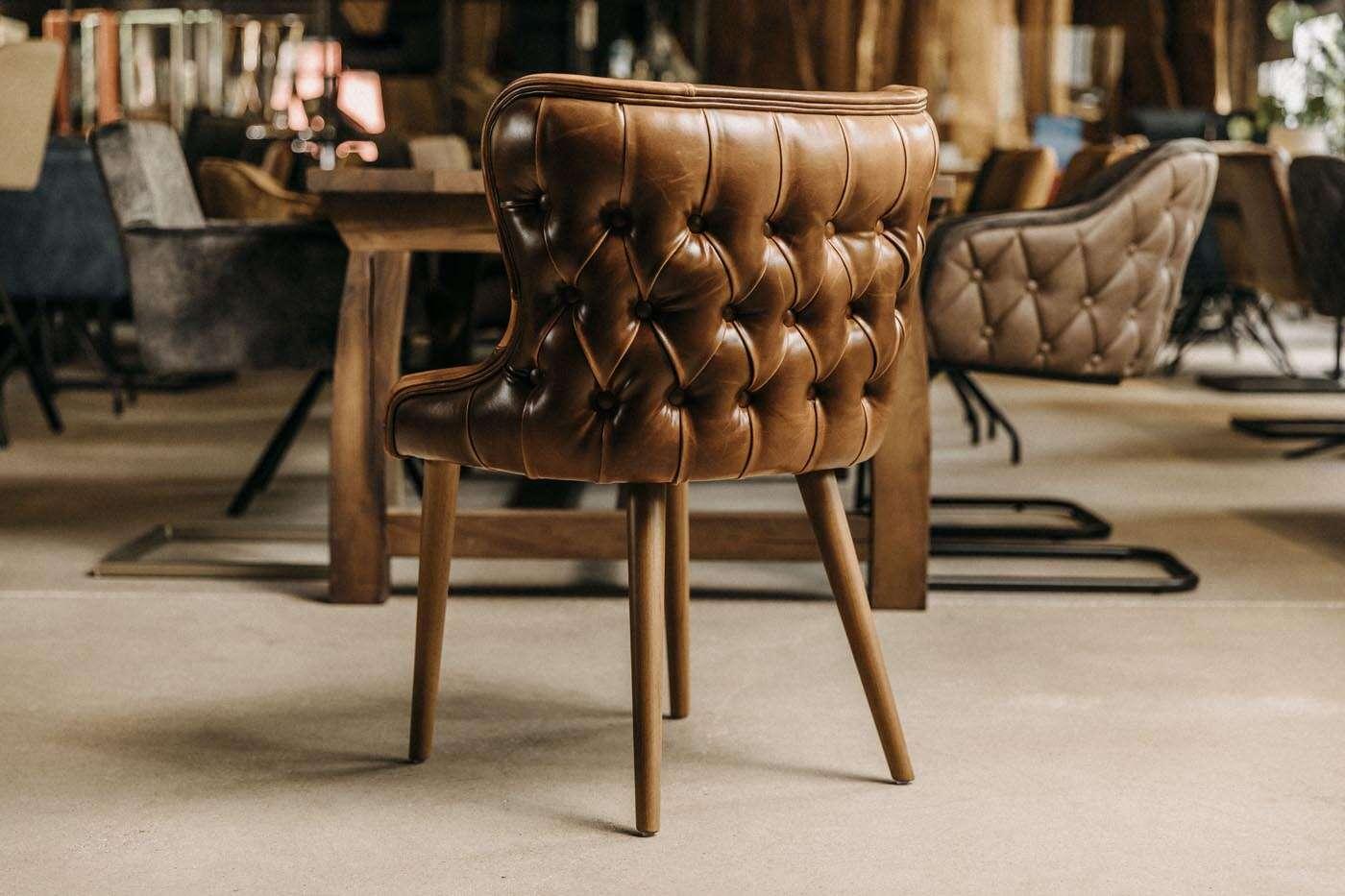 design esszimmerstuhl lord leder wohnsektion. Black Bedroom Furniture Sets. Home Design Ideas