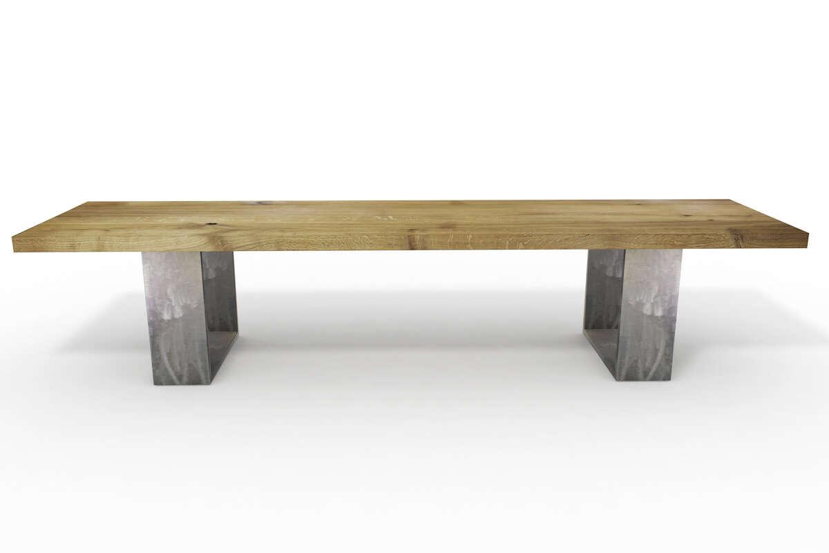 Sitzbank Holz nach Maß Eiche | Wohnsektion
