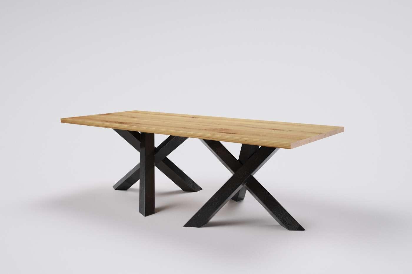 holztisch esstisch massiv eiche wohnsektion. Black Bedroom Furniture Sets. Home Design Ideas
