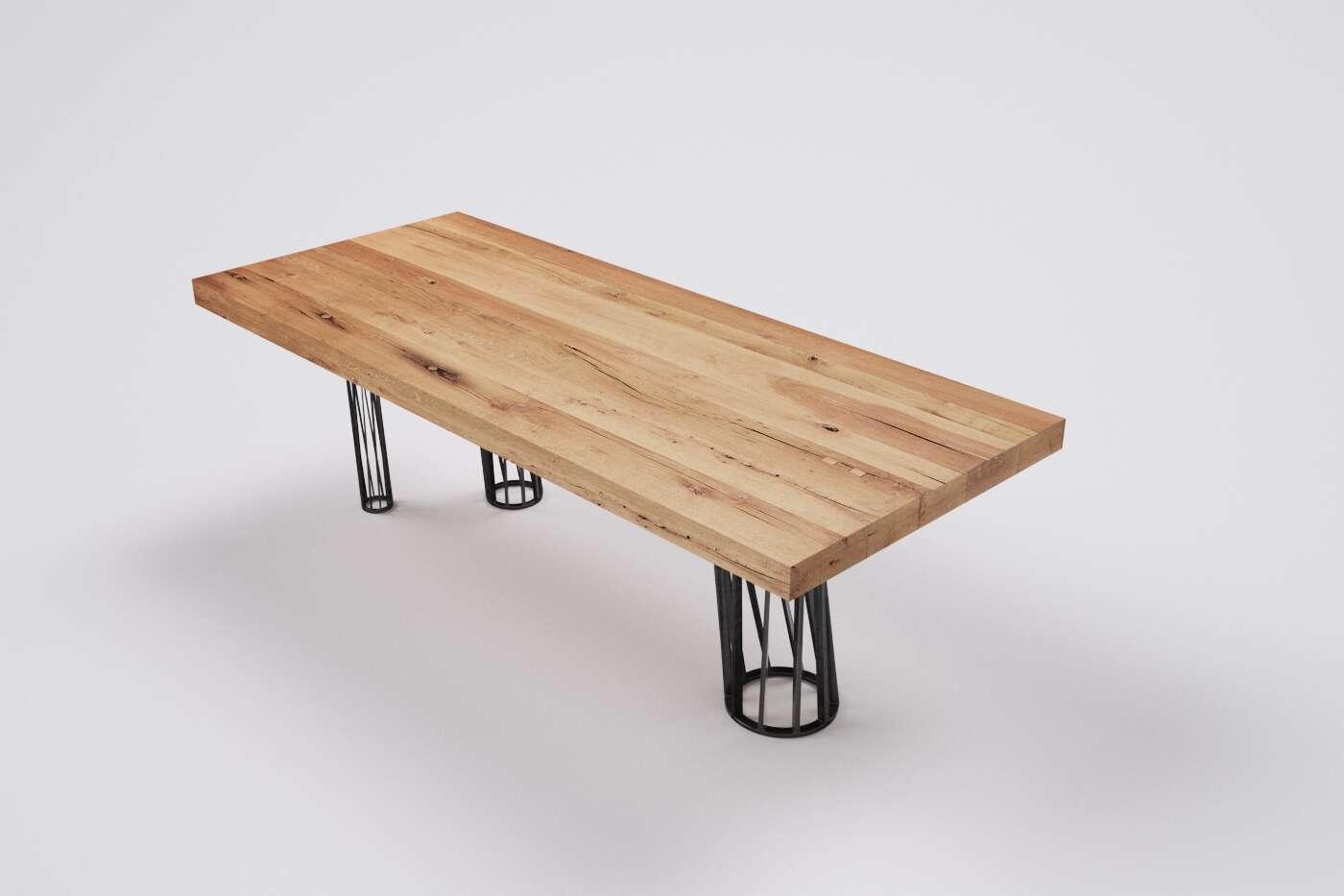 esstisch massivholz nach mass alteiche wohnsektion. Black Bedroom Furniture Sets. Home Design Ideas