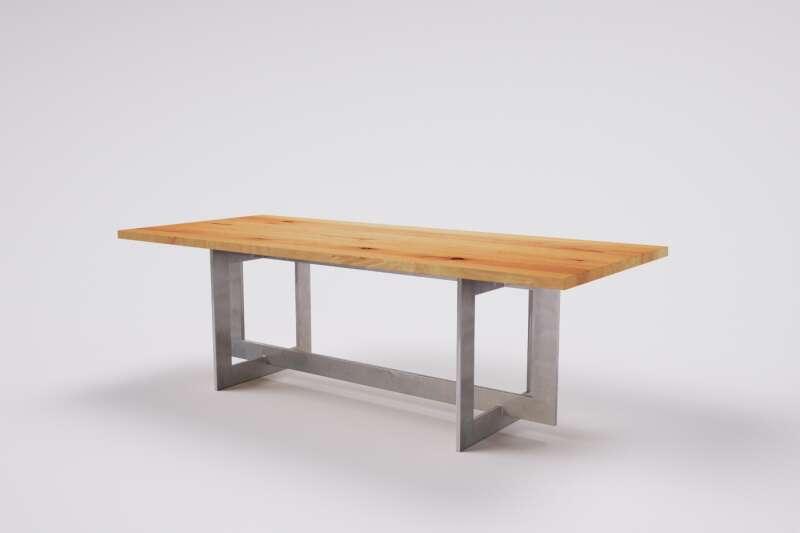 Massivholztisch auf Mass Buche mit Gestell Jonah