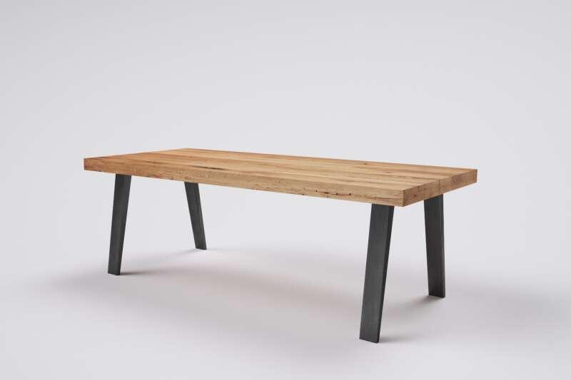 Massivholztisch Esstisch Altholz auf Maß Jonas