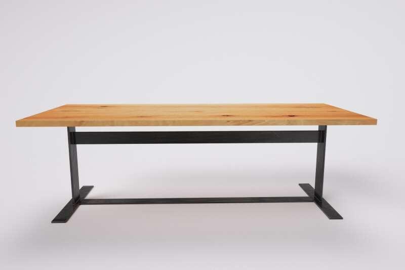Holztisch auf Maß | Wohnsektion