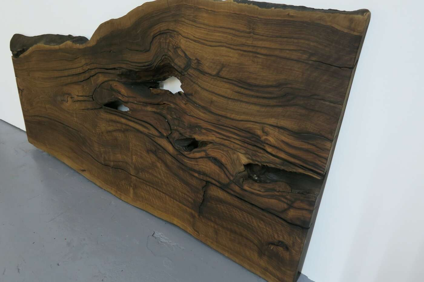 nußbaum baumtisch tischplatte | wohnsektion