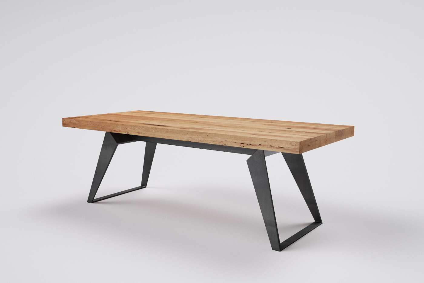 Massivholz Tisch altes Holz Melchior auf Maß
