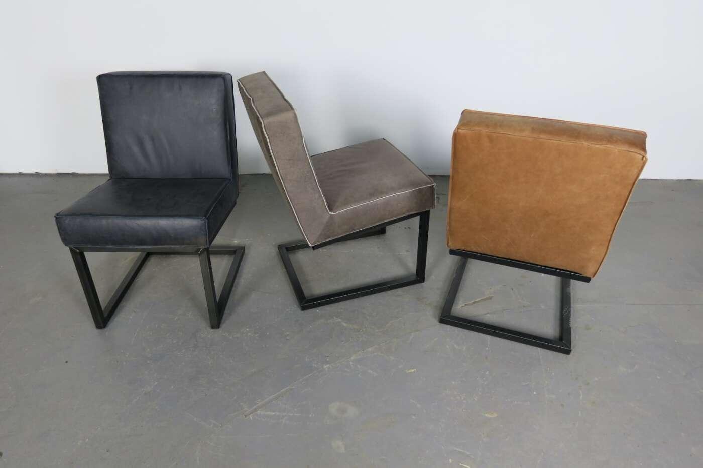 stuhl maglun ein designklassiker in kenia leder. Black Bedroom Furniture Sets. Home Design Ideas