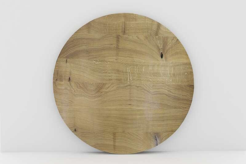 Eiche rund Tischplatte auf Maß | wohnsektion