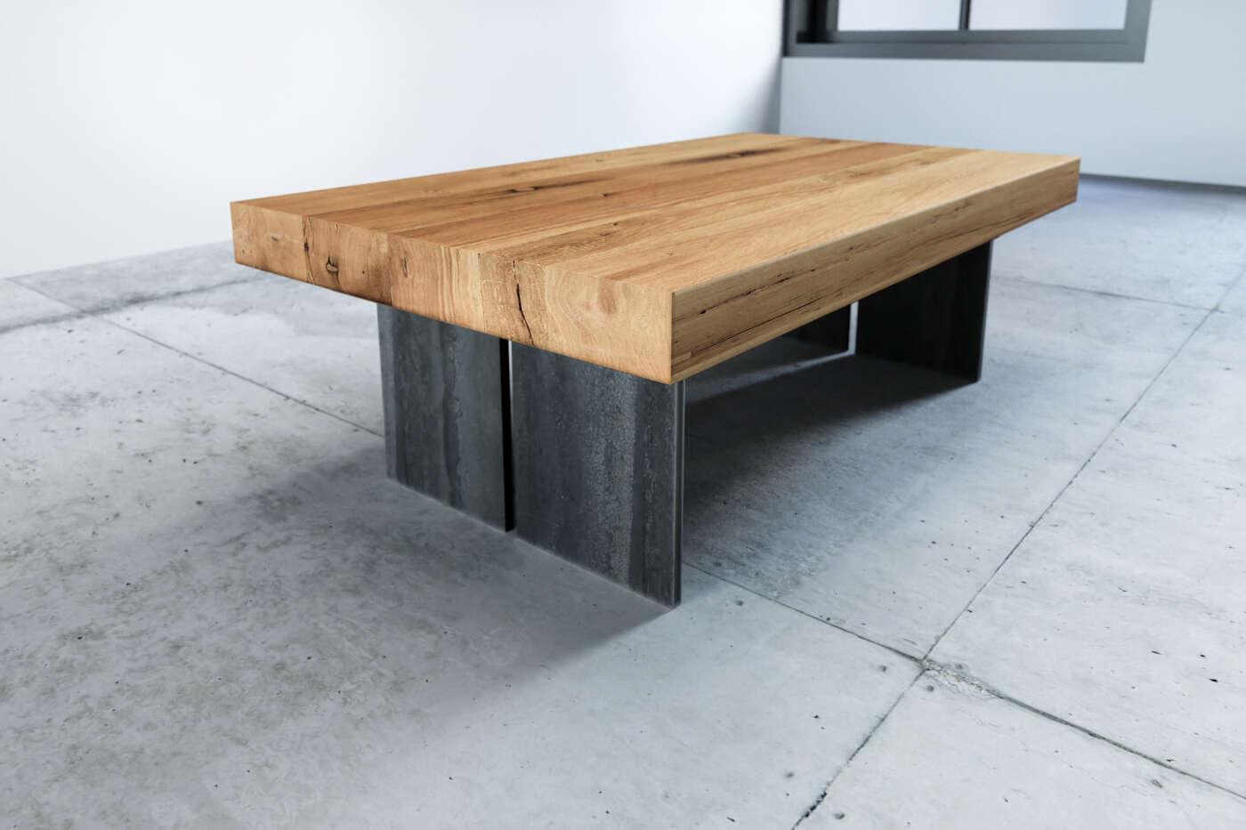 Holz Tisch Couch alte Eiche Raik | wohnsektion