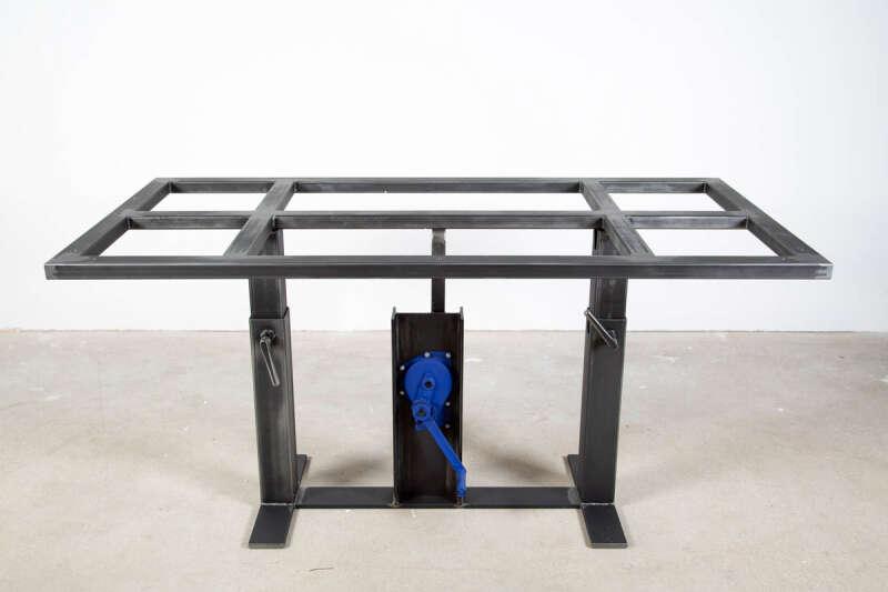 Stahl Esstisch Untergestell nach Maß Compus